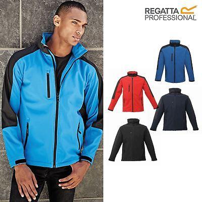 Size XL Regatta TRA650 08780 Mens Hydroforce 3-Layer Membrane Waterproof Breathable Work Softshell Jacket Seal Grey//Black