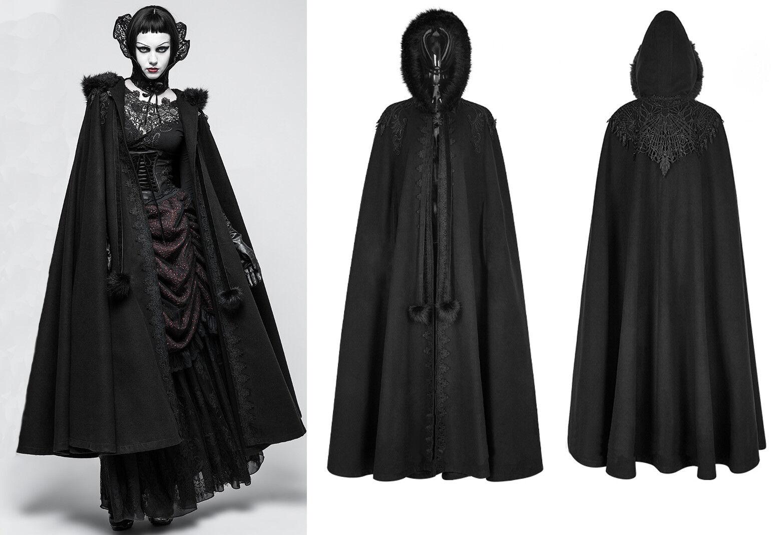 Punk Rave Umhang Cape Kapuze Nugoth Nugoth Nugoth Nugoth Vampire Gothic Hood LARP Mantel Y-790   | ein guter Ruf in der Welt  | Lassen Sie unsere Produkte in die Welt gehen  | Lebhaft  | Shopping Online  | Haltbar  668fb8