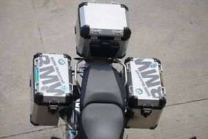 RGS Reflective Pannier Top Side Case Box Cover Sticker Decal - Bmw motorcycle stickers decals