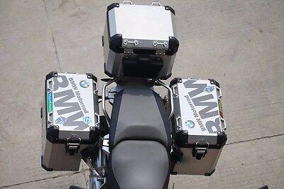 BMW Motorrad Helmet Top Side Case Box Cover R1200GS F800 F700 Waterproof Sticker