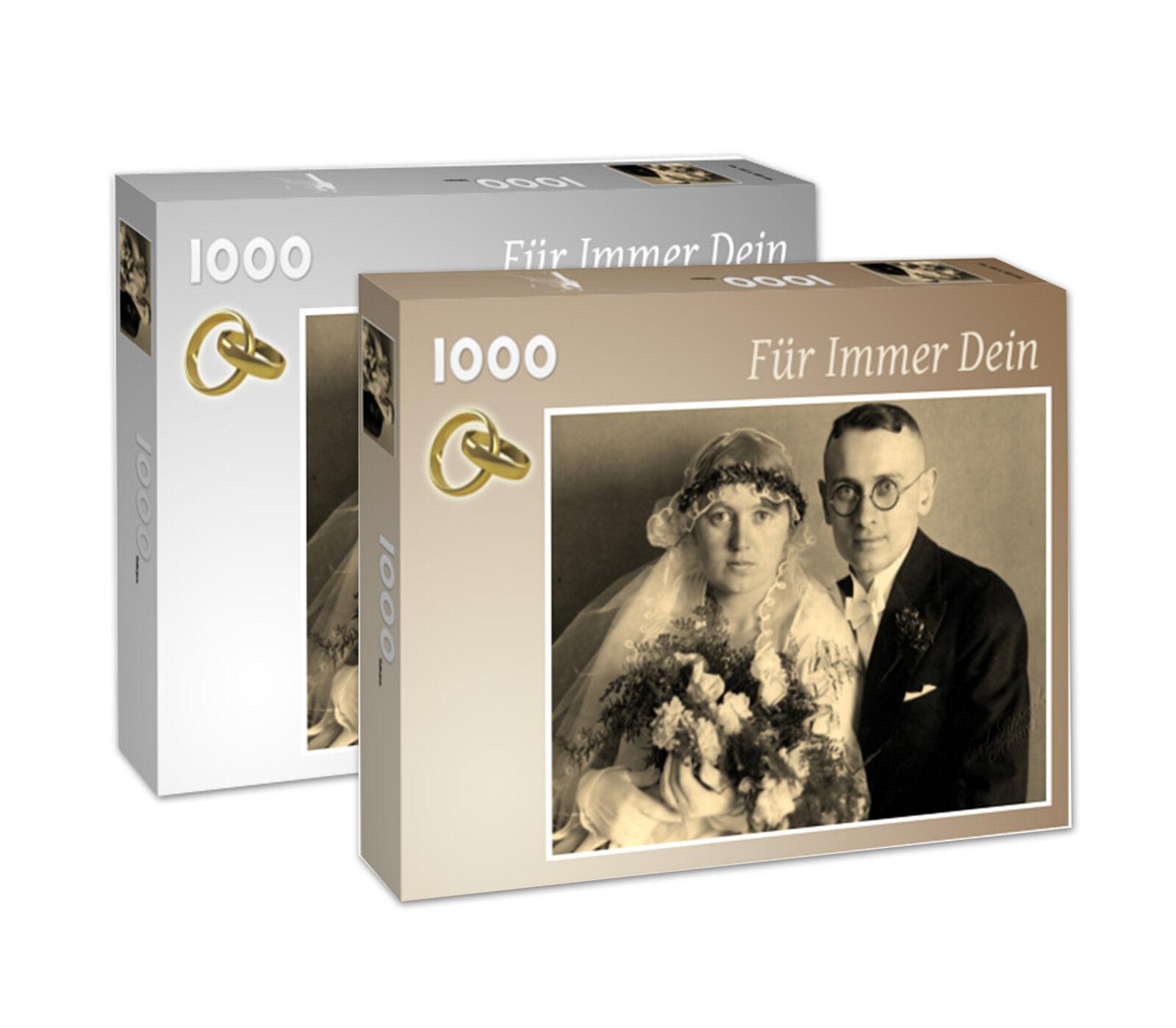 1000 Teile-Puzzle nach eigenem Foto Markenqualität hochwertiger Fotokarton
