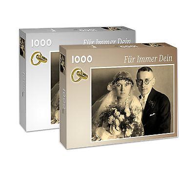 1000 Teile-Puzzle nach eigenem Foto, Markenqualität, hochwertiger Fotokarton