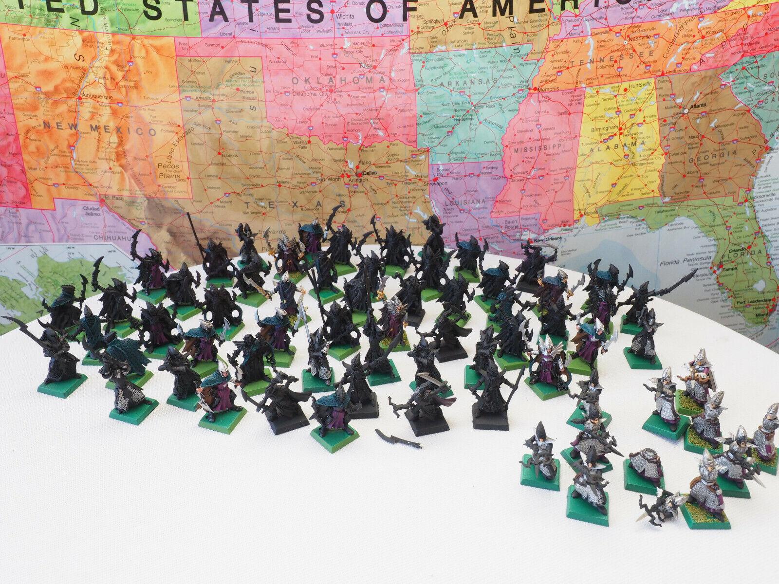 Warhammer 40k Figures 56 Metal + 11 Plastic Figures 67 Total