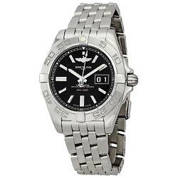 Breitling Galactic 41 Black Dial Men's Watch (A49350L2-BA07SS)