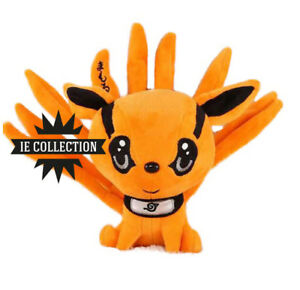 SystéMatique Naruto Kurama Peluche 25 Cm Volpe A 9 Code Kyuubi Shippuden Pupazzo Plush Doll