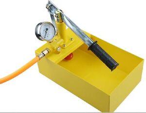 FAST Manual Hydraulic Pump Testing Pump Pipeline Pressure Test tool