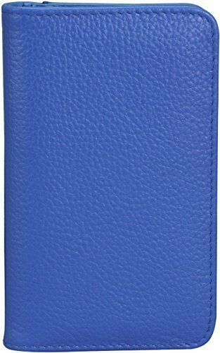 Buxton Womens Leather Deluxe Snap Card Case Wallet