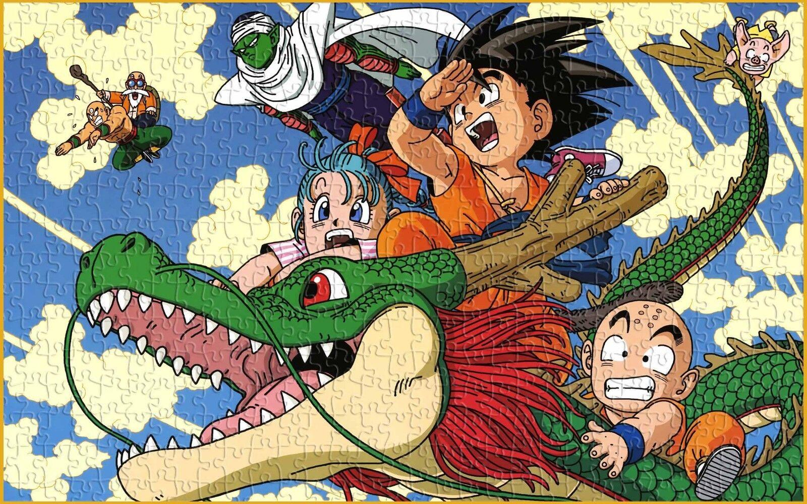 DBZ Goku Kids Dragon Ball Z Kuririn Anime Toys Japan JP Puzzle Jigsaws 1000 pcs