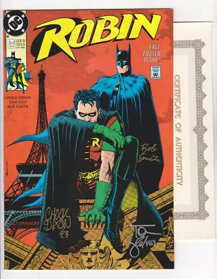 LYLE and SMITH COA NM-//NM * SHIPS FREE ROBIN 1  SIGNED 3X DIXON