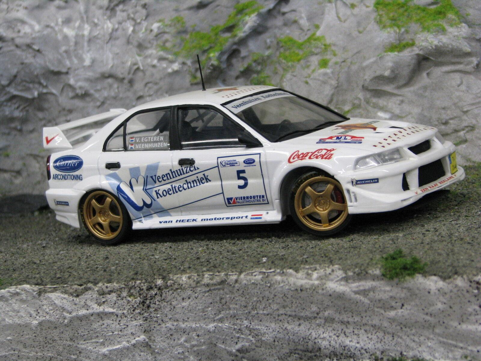 QSP Mitsubishi Lancer Evo V 1 24  5 Veenhuizen   v. Egteren Barneveld Rally 2001