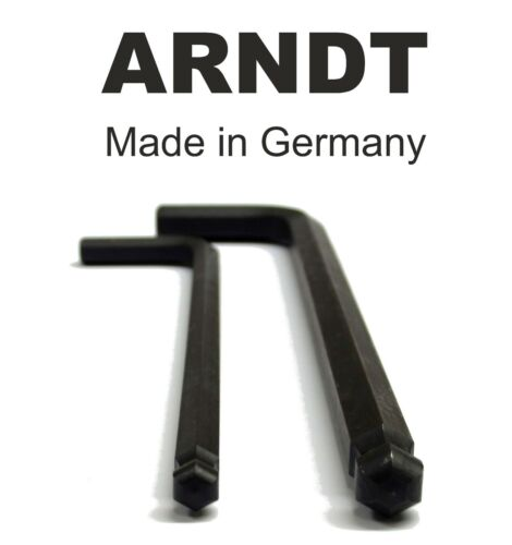 Ball End Allen Key Keys 12mm 15//32/'/' Alen Alan Hexagonal Hex Key ARNDT BLACK 300