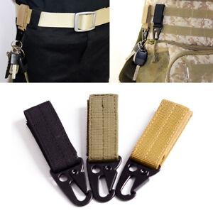Eg-Tattico-Tessitura-Molle-Fibbia-Elevatore-Cintura-Gancio-Colpo-Secco