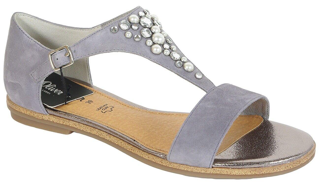 s.Oliver 28114 sandals sale steel