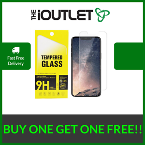 iPhone Tempered Glass Screen Protector 9H