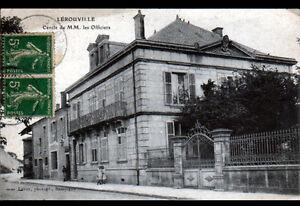 LEROUVILLE-55-CERCLE-MILITAIRE-des-OFFICIERS-anime-en-1917
