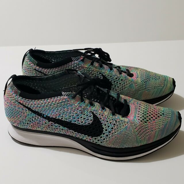 100% authentic pretty cool best price Authentic Nike Flyknit 3.0 Fireberry Punch Cork Racer 9 636232 016 ...