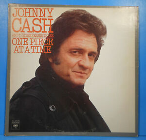 JOHNNY-CASH-ONE-PIECE-AT-A-TIME-LP-1976-ORIGINAL-GREAT-CONDITION-VG-VG