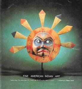 Sotheby-039-s-Sale-4472Y-Native-American-Indian-Art-Auction-Catalog-1980