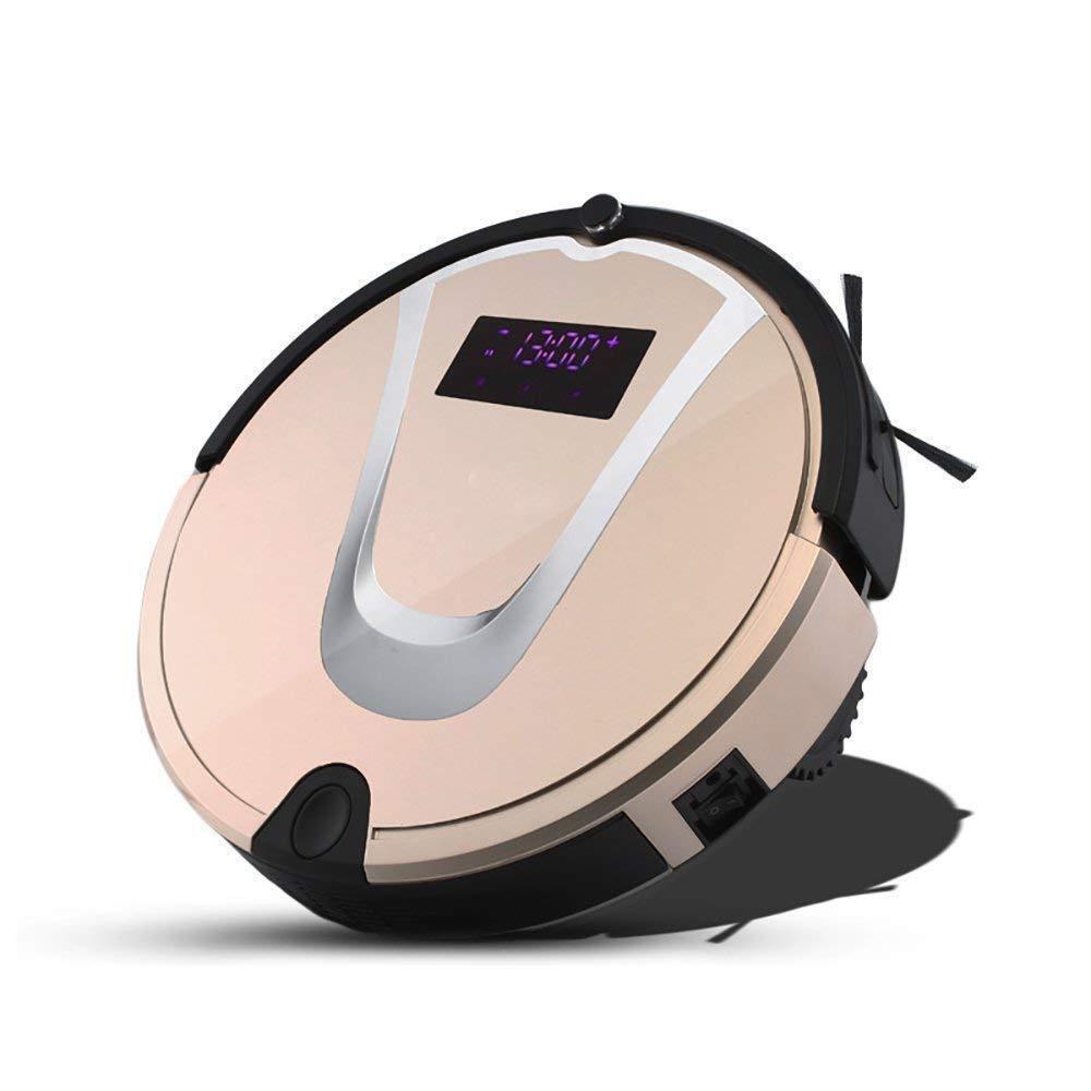 Smart Robotic Vacuum Cleaner Self-Charging Floor Suction Cleaning Wet Dry Mop