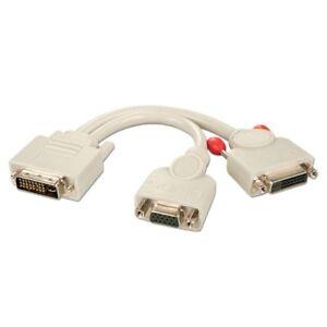 Lindy-adaptateur-dvi-i-male-vers-dvi-d-femelle-femelle-vga-splitter-cable