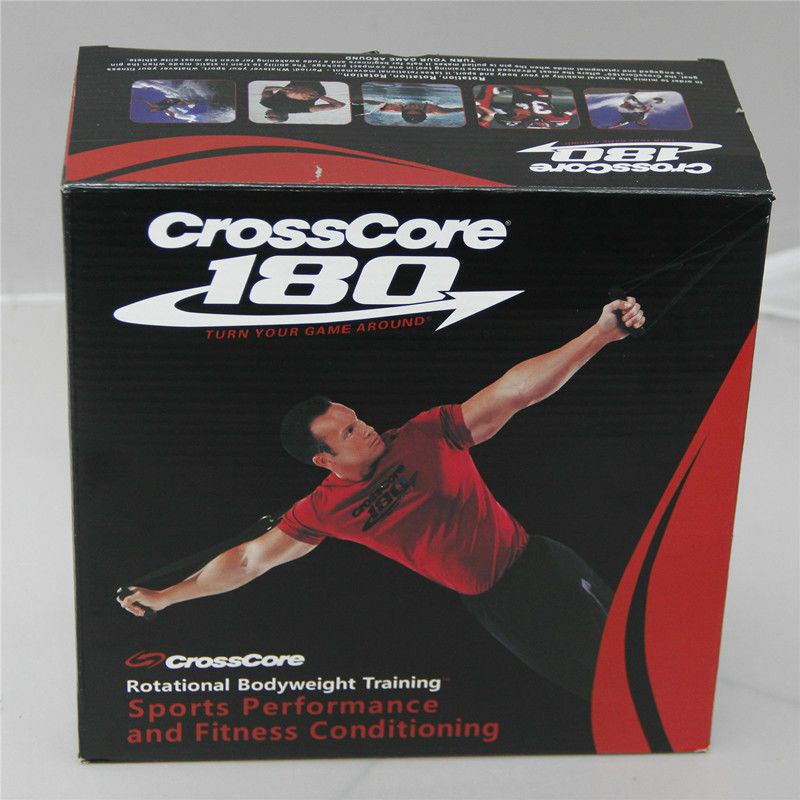 CrossCore 180 Complete Training Rotational Bodyweight Training Complete Trainer Home Gym Train Kit 9886d5