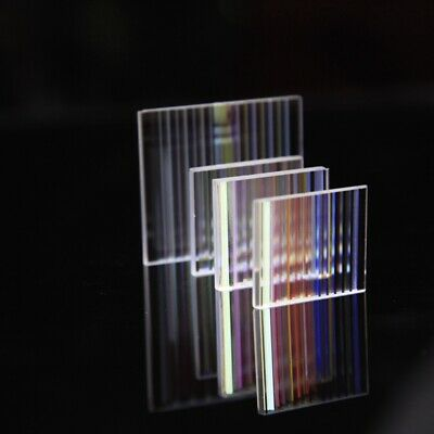 10pcs Defective Slim Prism PBS Decorative Prism Physics Light Research Glass