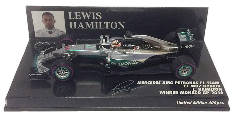 Goût élégant et choix distingué. Minichamps Mercedes W07 Winner Monaco GP 2016-Lewis Hamilton 1/43 Scale | Durable Service