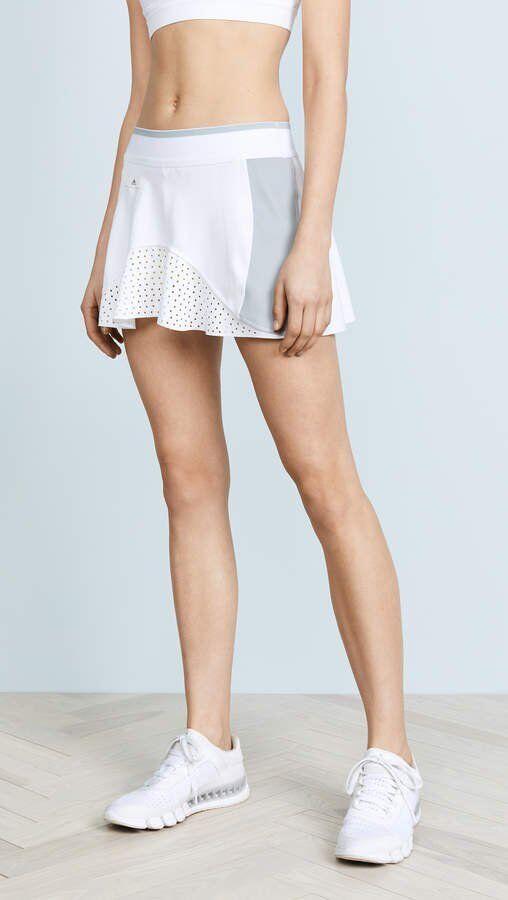 Stella McCartney for Adidas Womens Skirt Size L Barricade White 2018 skirt NWT