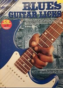 """progressive Blues Guitar Licks"", Musique Et Cd-afficher Le Titre D'origine"