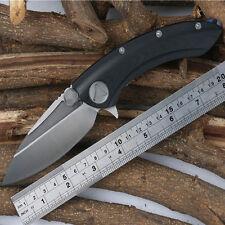 B001615Whaleshark TC4 G10Handle D2 Blade Folding Tactical Survival Flipper Knife