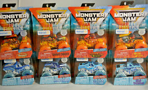 FIRE-amp-ICE-Monster-Jam-Truck-Special-Edition-Pack-2019-Walmart-Exclusive