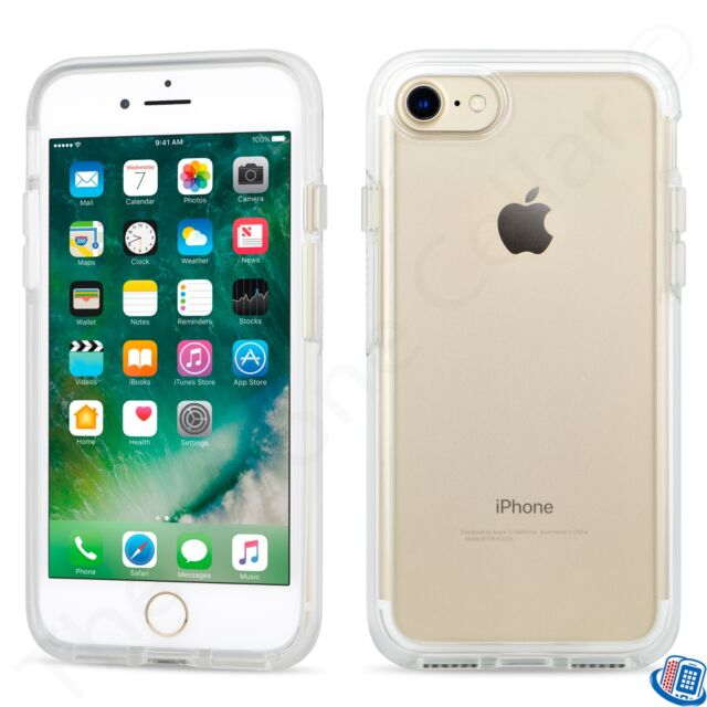 cheaper 4916b 7cd60 OtterBox Symmetry Series Clear Bumper Shell Case for Apple iPhone 6 6s