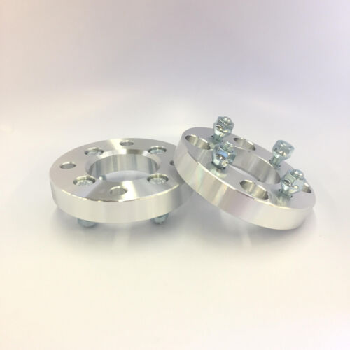 4PCS 4X114.3 TO 4X100 CONVERSION WHEEL ADAPTERS 12X1.5 SPACERS 25MM 1 INCH