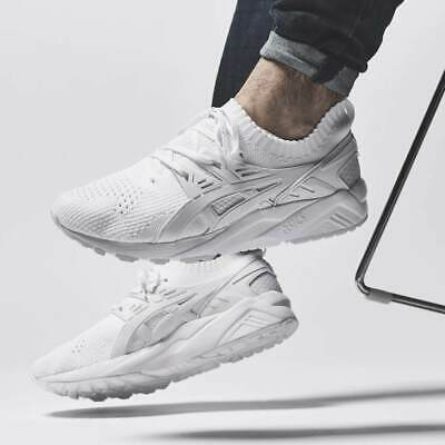 Asics Gel Kayano Knit Shoes White