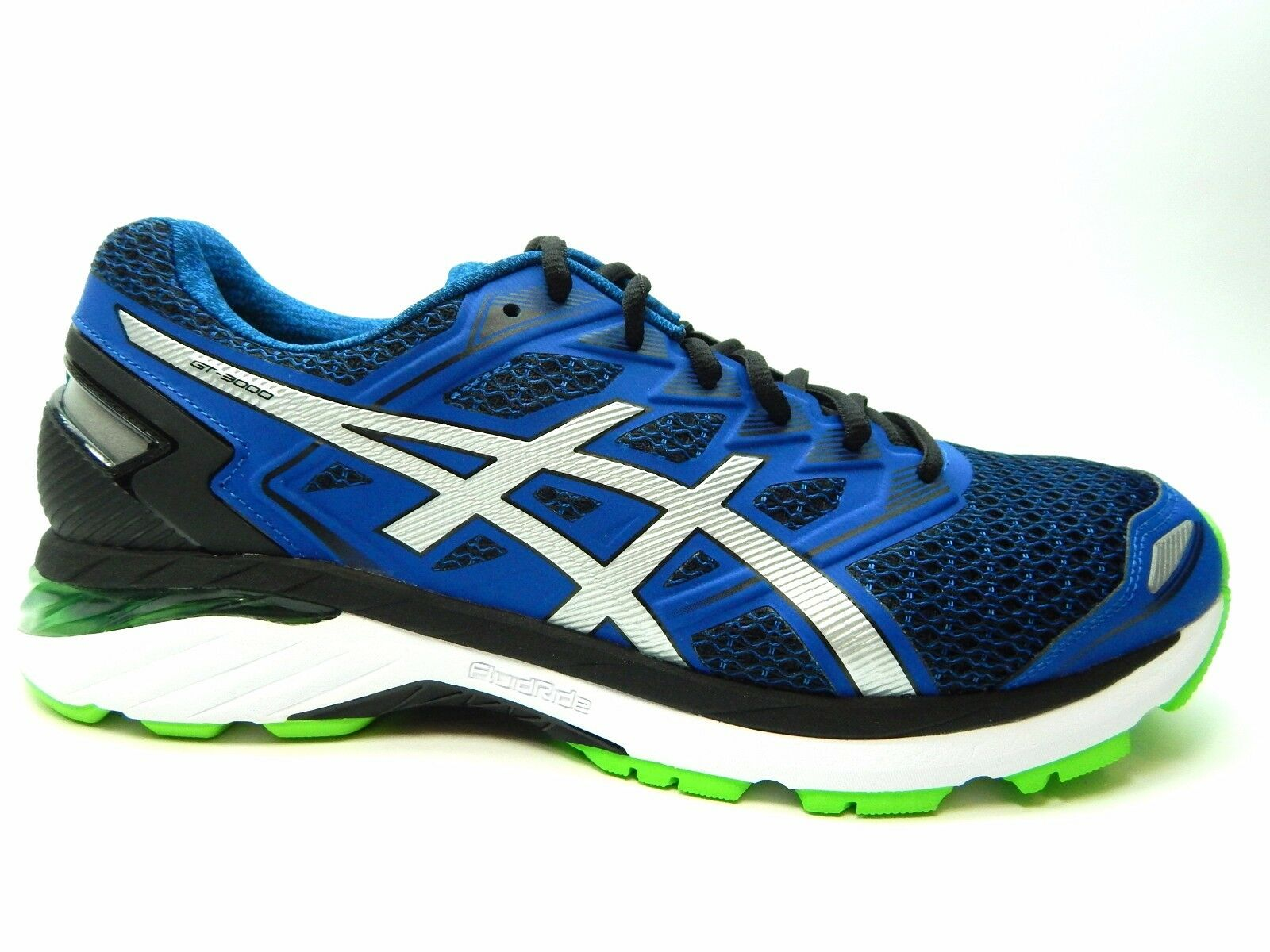 ASICS GT 3000 5 (2E) Negro Plata Imperial T706N 9093 hombres zapatos