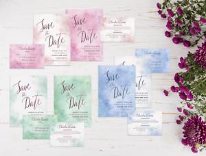 Personalised-Watercolour-Wedding-Invitation-Set-Day-Evening-Invite-RSVP-amp-Info