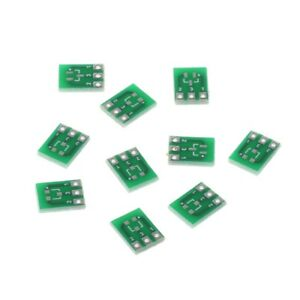 10-Pcs-SMD-SOT23-3-To-DIP-SIP3-Adapter-PCB-Board-DIY-Converter-Double-Side