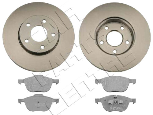FOR FORD FOCUS MK2 2004-1.6 1.8 2.0 TDCi FRONT VENTED BRAKE DISCS and PADS SET