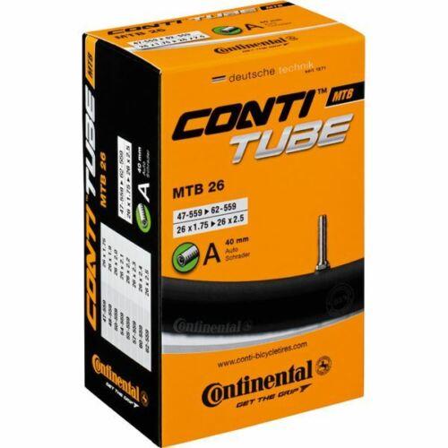 Continental MTB 26 X 1.75-2.5 inch Schrader inner tube