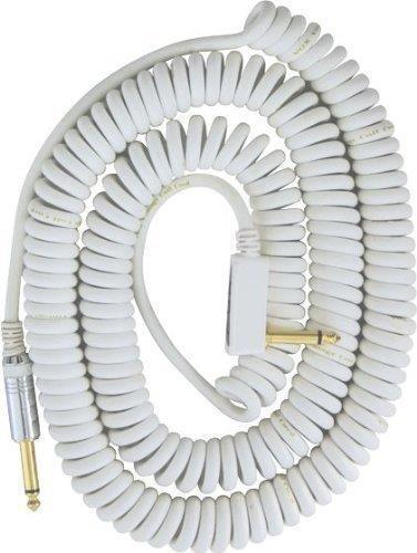 Nuevo blancoo blancoo blancoo Vox VCC90WH Vintage Cable en espiral 29.5FT Envío Gratuito  la red entera más baja