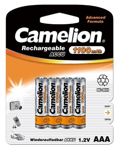 14 X Camelion AAA Mirco Hr03 1100mah Blister Telephone NiMh Battery 1,2 V