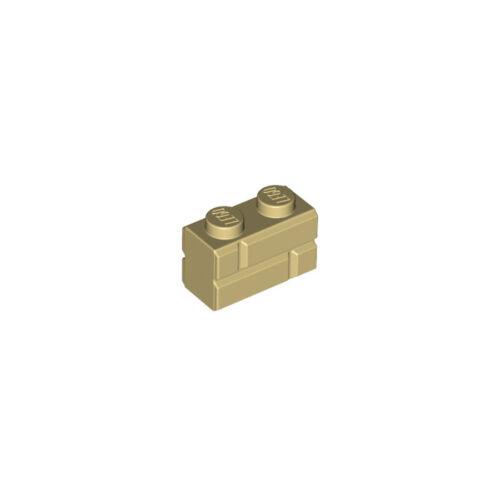 BESTPRICE GUARANTEE SELECT QTY /& COL LEGO NEW 98283 1x2 MASONRY PROFILE