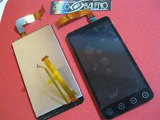 Kit DISPLAY LCD+TOUCH SCREEN per HTC EVO 3D G17 VETRO VETRINO ASSEMBLATO Nuovo