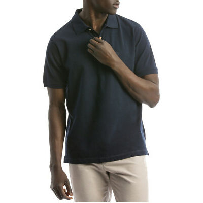 NEW Reserve Essential Plain Polo Navy