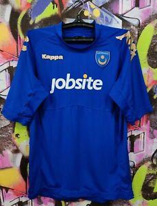 Portsmouth FC 2011 2012 Home Football Shirt Soccer Jersey Kappa Mens size XXL