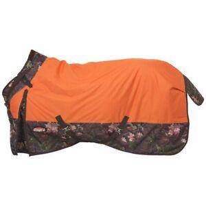 New-Tough-1-Blanket-Waterproof-Turnout-81-034-Snuggit-Neck-Rug-Timber-Horse-Tack
