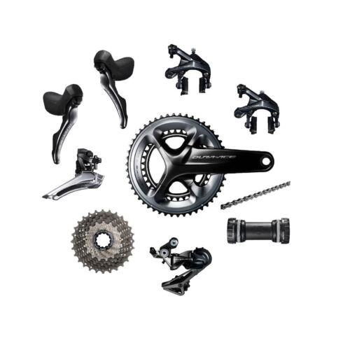 Shimano Dura-Ace R9100 2 x 11 speed 50//34T Road Bike Bicycle Groupset Build Kit
