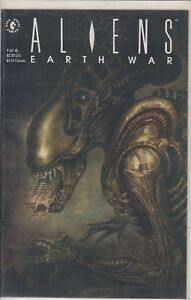 Aliens Earth War #1 2 3 4 Dark Horse Comic Book Set 1-4 HORROR SYFY SCIFI 1990