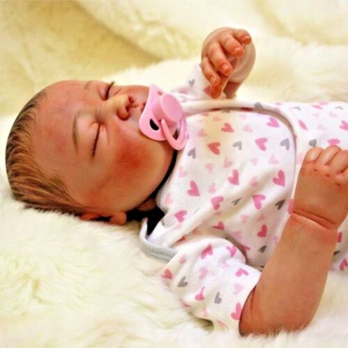 Ultra Real Reborn Baby Dolls Realistic Doll Babies Lifelike Bebe Silicone Toys