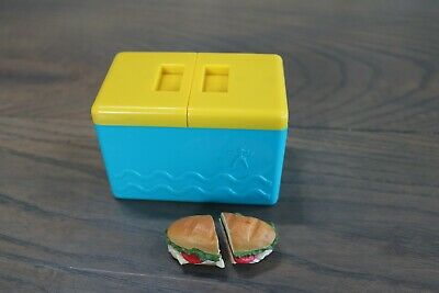 """American Girl 18/"""" Doll  CHEESE SANDWICH 1.25/"""" Square Kit/'s from SCHOOL LUNCH NIP"""